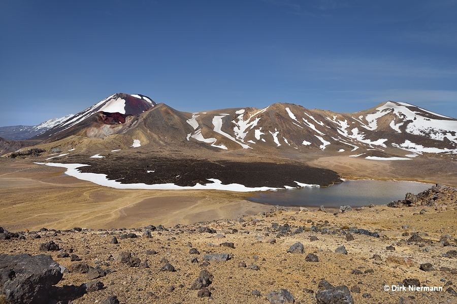 Central Crater of Mount Tongariro