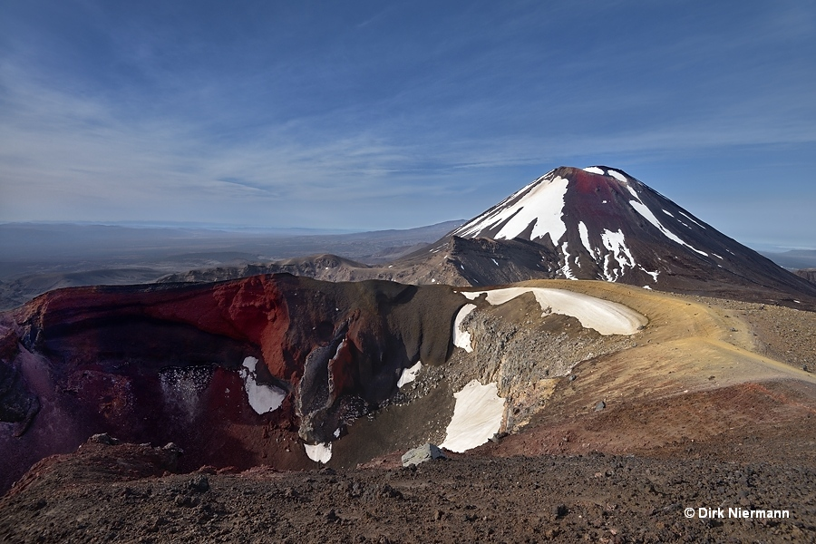 Red Crater of Mount Tongariro