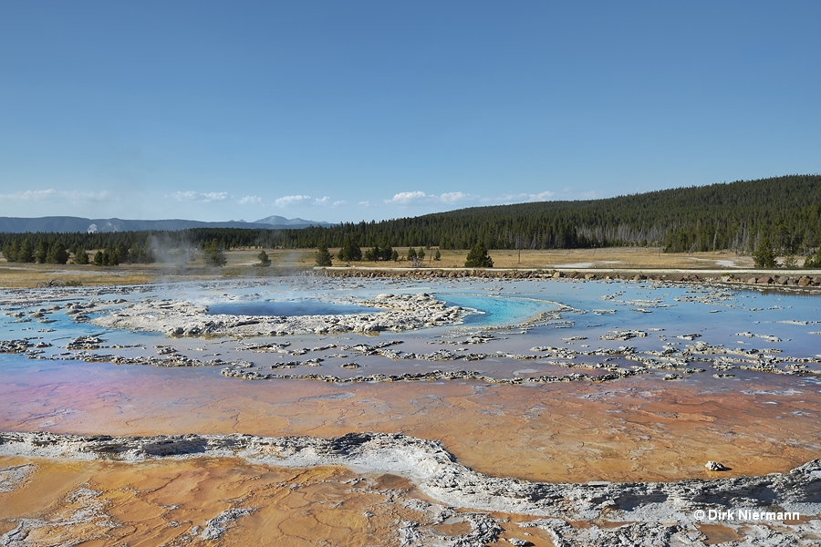 Great Fountain Geyser Yellowstone