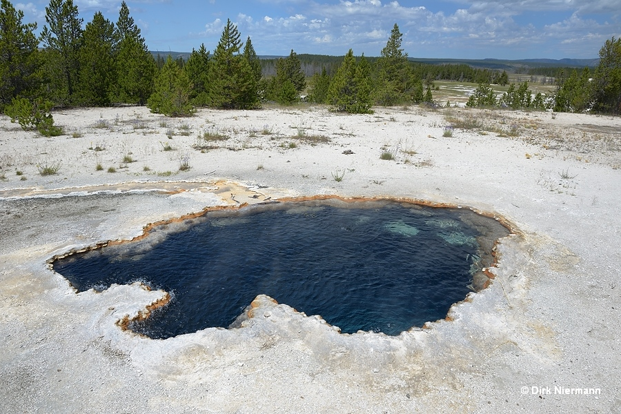 Surprise Pool Yellowstone
