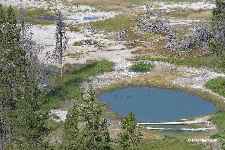 Butterfly Spring and Peanut Pool Yellowstone