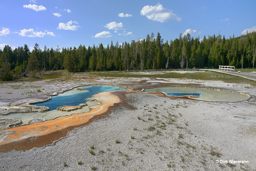 Doublet Pool Yellowstone