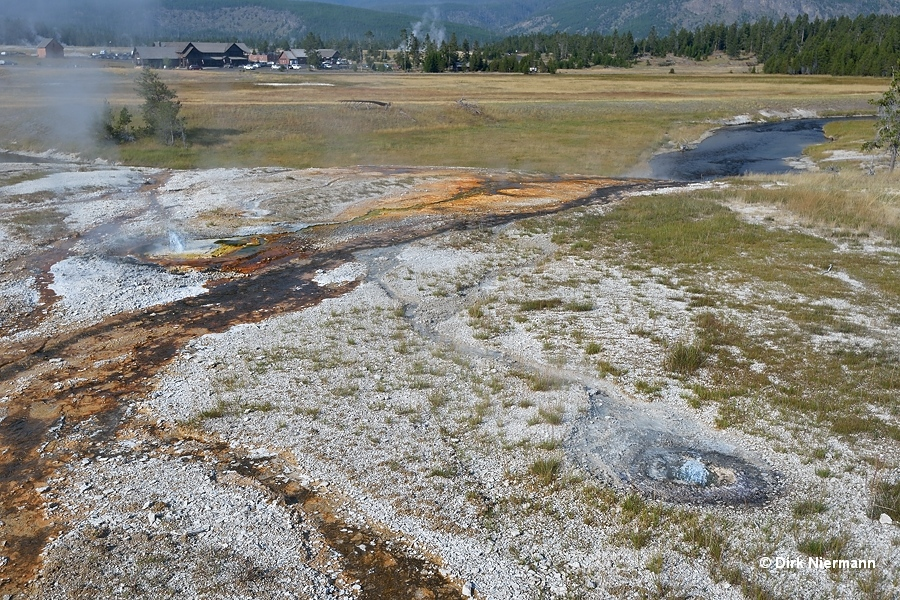 North Dwarf Geyser Yellowstone