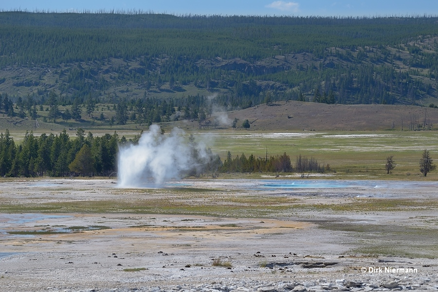 Drain Geyser Yellowstone