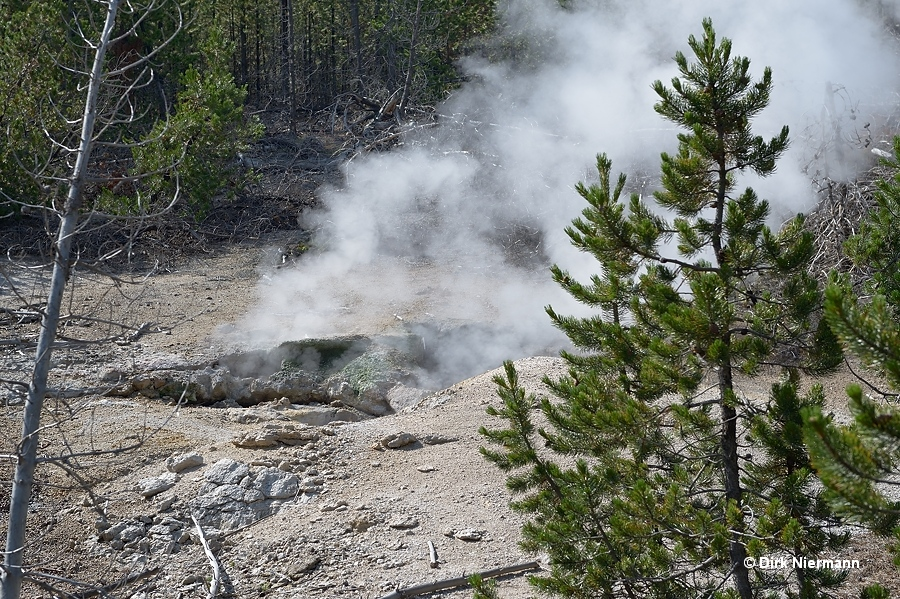 Arch Steam Vent Yellowstone