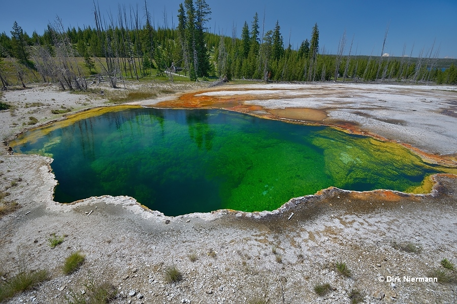 Abyss Pool Yellowstone